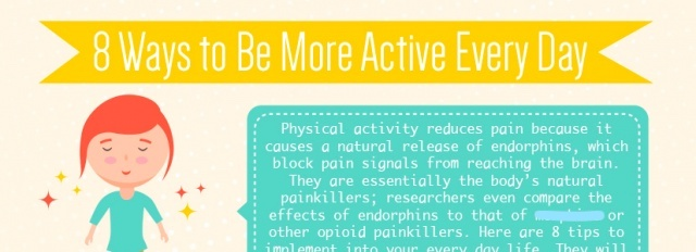 8 ways got be more active every day