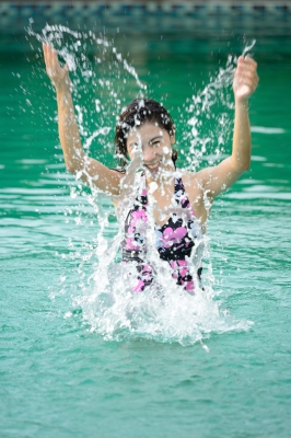 water running can improve posture