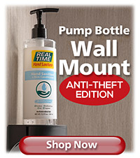 Pump Bottle Wall Mount