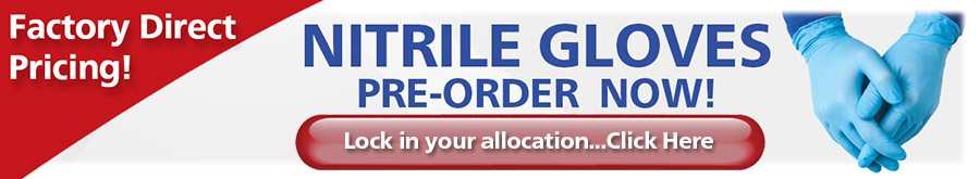 Nitrile Gloves...Lock in your allocation...Click Here