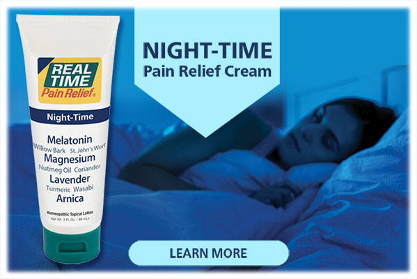 NEW NIGHT-TIME Pain Relief...Click Here