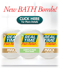 New Pain Relief Bath Bomb - Click Here