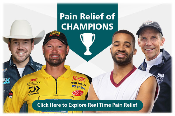 Pain Relief of CHAMPIONS From cowboys to ballerinas, <span class='notranslate'>Real Time Pain Relief</span> has partnered with people who are champions in their fields. ..Click Here