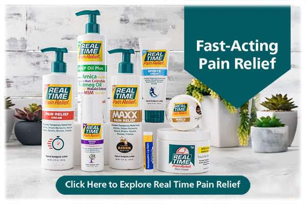 Pain Relief Lotions...Click to Learn More