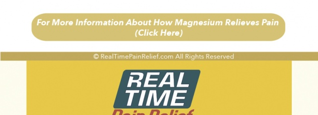 Magnesium and Pain Relief